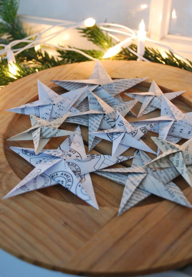 Origami Sterne - Link zur Anleitung