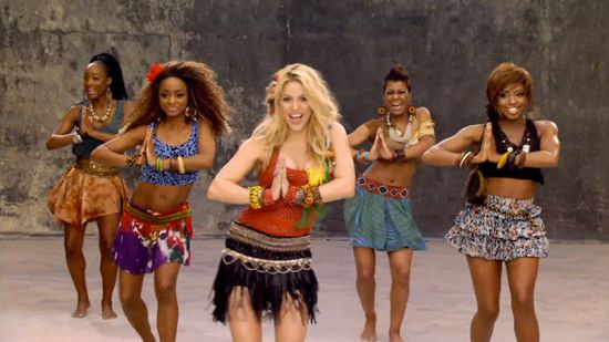 Shakira still.ashx (550×309) Waka Waka music video, 2014 FIFA World Cup, South Africa