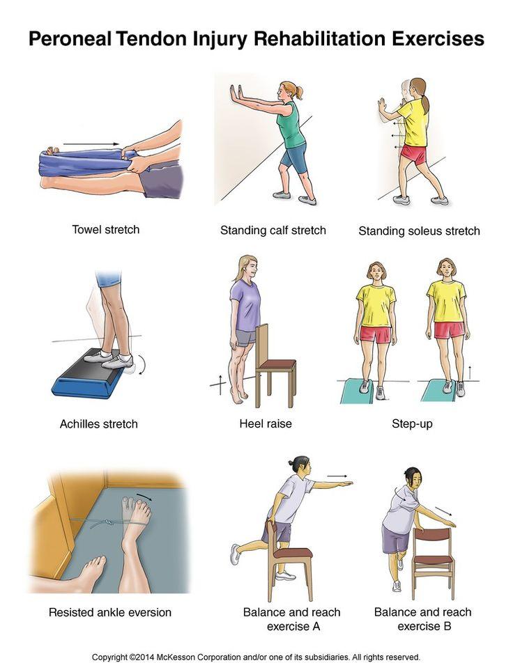 Summit Medical Group - Peroneal Tendon Injury Exercises