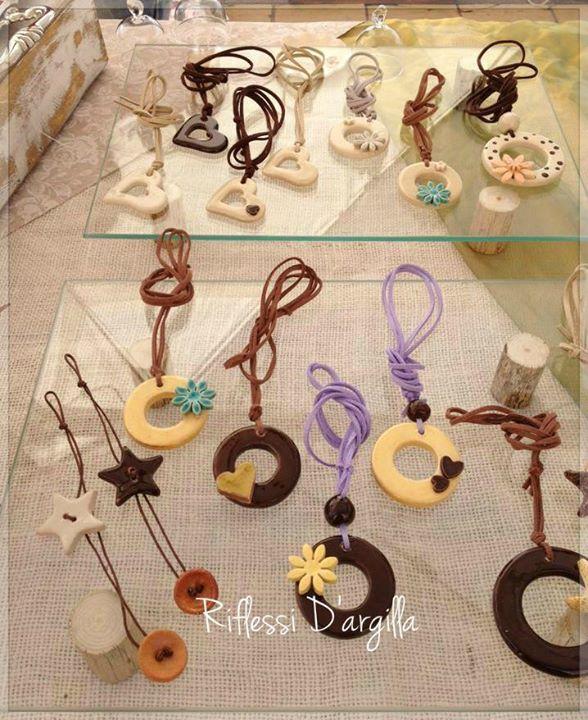 Bijoux. #ceramic #handcraft #handmade https://www.facebook.com/RiflessidArgilla/?fref=ts