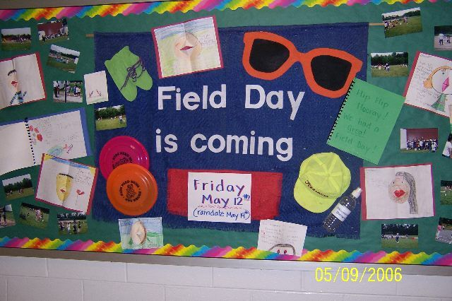 bulletin board idea -  Sports Day