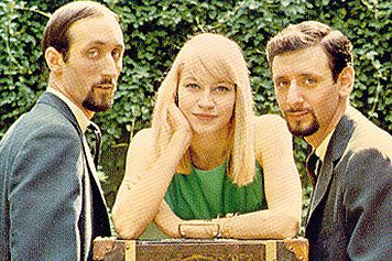 Peter Paul and Mary love their special unique voices. loved puff the magic dragon and if I had a hammer