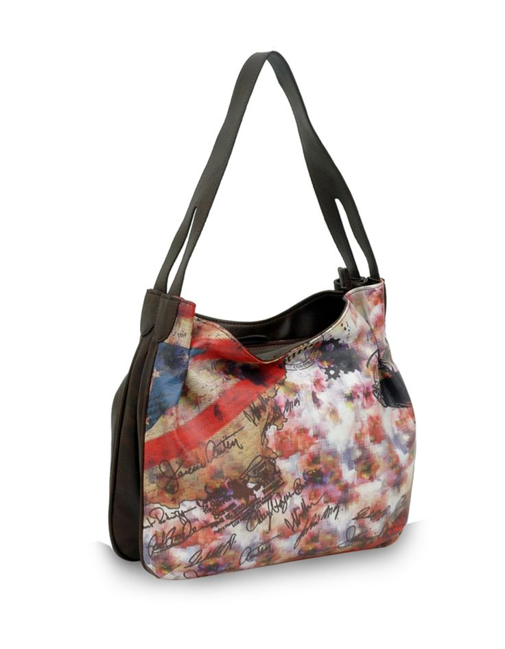 Diffuse Dingdong Brown: An artsy nature inspired bag by Baggit.