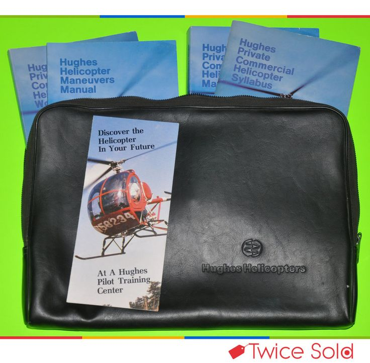 #Helicopter #History! $45 & FREE SHIPPING! 1984 Hughes Helicopter Pilot Training Kit - FREE SHIPPING! (LAST TIME LISTING)