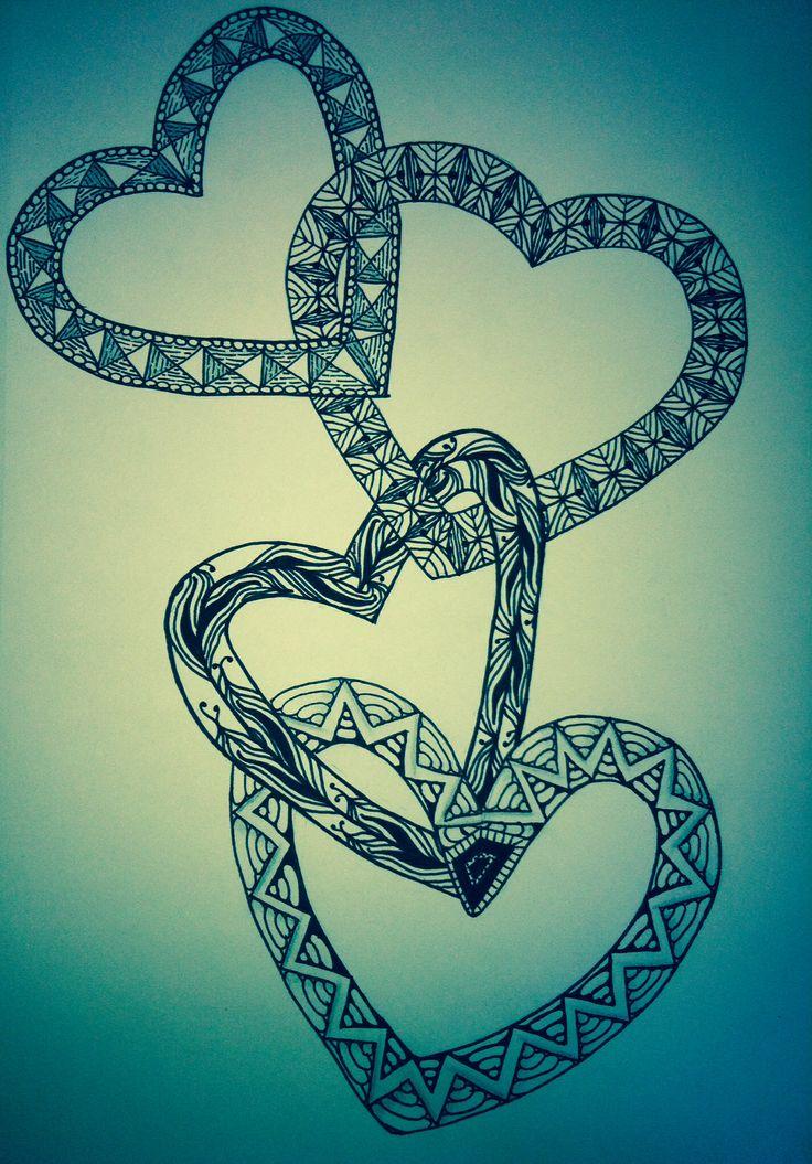 #2.                                                               Heart Art.       By Heather Lokun