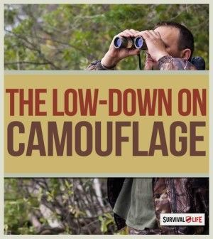 Camouflage for Concealment and Evasion | Wilderness Survival Skills , Tips & Ideas By Survival Life http://survivallife.com/2015/03/12/camouflage-for-concealment-and-evasion/