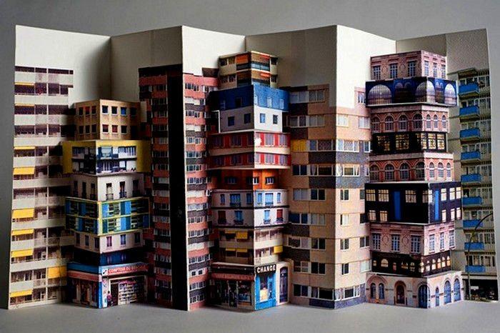 Paper Towns clamshell by Mathilde Nivet