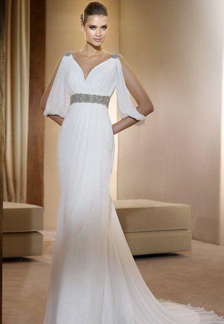 Abito da sposa stile greco romano