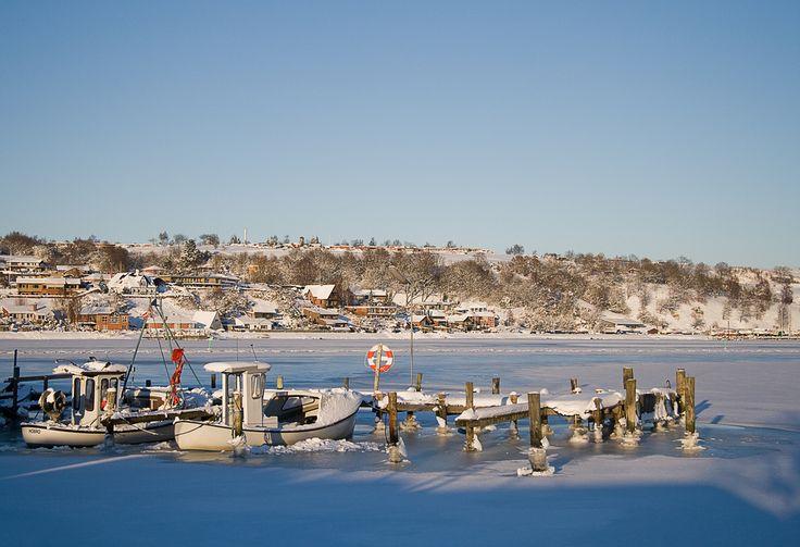 Is i havnen Hobro