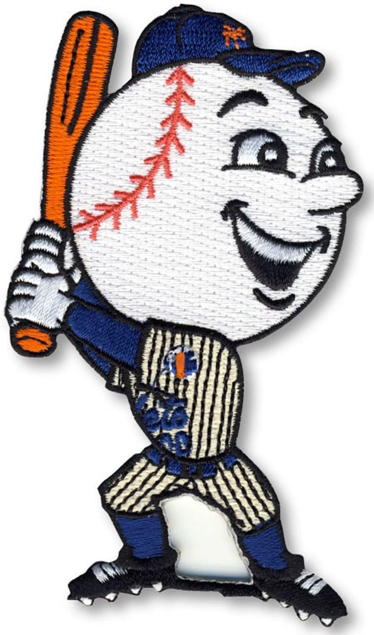 "New York Mets Mascot ""Mr. Met"""