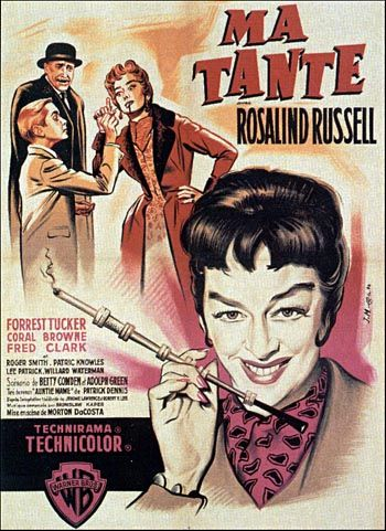 Rosalind Russell's greatest film role, as the outrageously lovable Auntie Mame, should have won her the Academy Award.