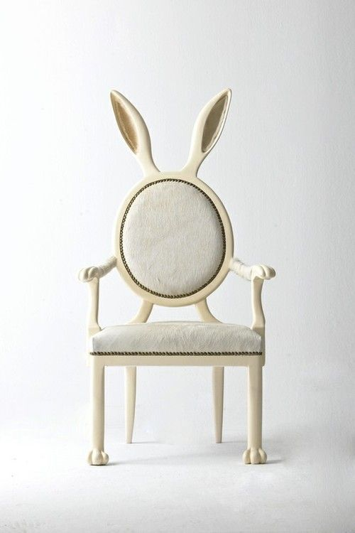 hippity hop, so cute! | rabbit ear chair
