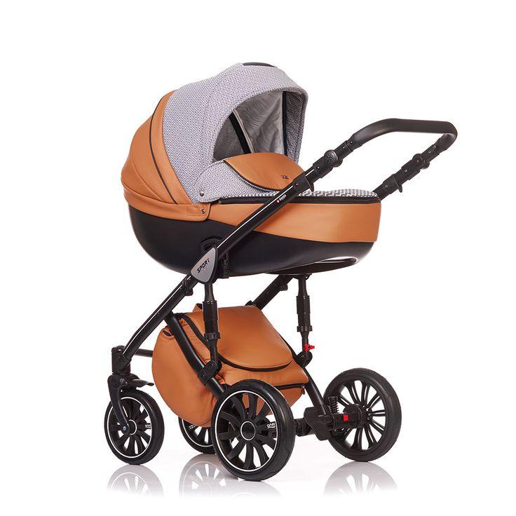 Trio Sport Anex Baby SP14 Ecopelle Castagna Jaquard - Casa Del Bambino Articoli Infanzia