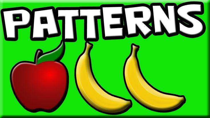 Patterns for Kids   Learn Patterns   Preschool Patterns   Kindergarten P...