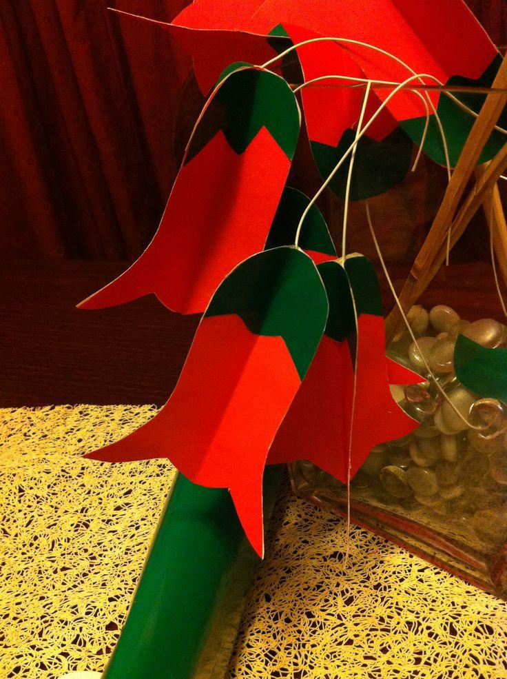 Fácil de hacer, y una idea de decoración para estas Fiestas Patrias