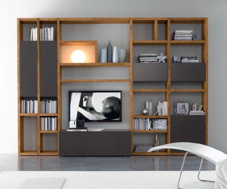 Hochwertige Wohnwand Modern  Die moderne und hochwertige Wohnwand