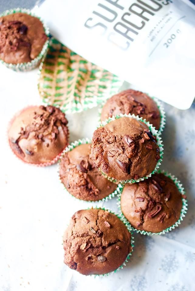Super muffins with super cocoa from diet-food.pl