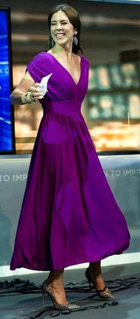 2013 - Crown Princess Mary attends Index Award Ceremony in Helsingør