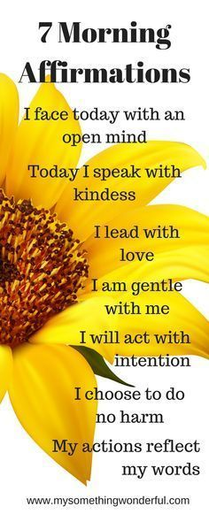 Providing tips for Intentional living/ daily affirmations/ morning meditation/ living in gratitude/ positive attitude Start each day with these morning affirmations and find joy and happiness in every day life http://www.loapower.net/start-with-law-of-attraction/