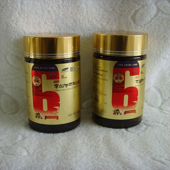 KOREAN HEAVEN RED GINSENG EXTRACT GOLD(240g*2Bottles) / Vigor recovery  !! #KOREANHEAVENREDGINSENG