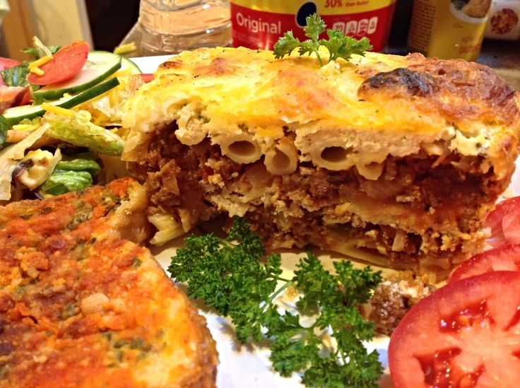 RECYCLED MEAL-PENNE PASTA LASAGNA