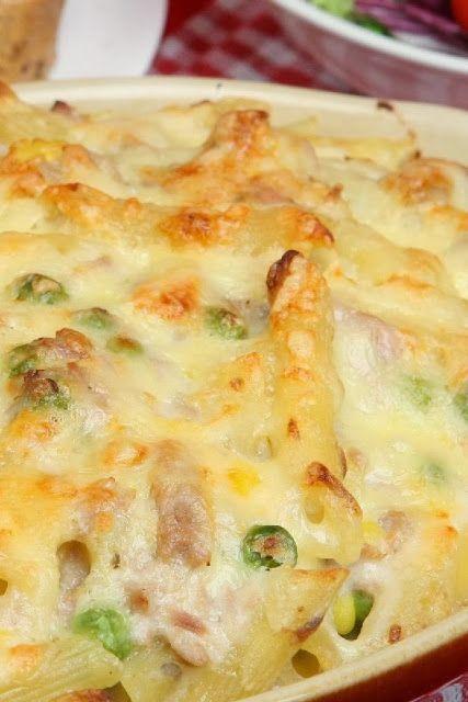 Tuna Casserole ~ Good and creamy,.. rich delicious comfort food!