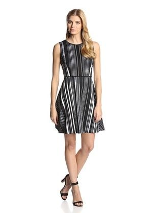 54% OFF Marc New York by Andrew Marc Women's Sleeveless Dress with Cutout Back (Black)