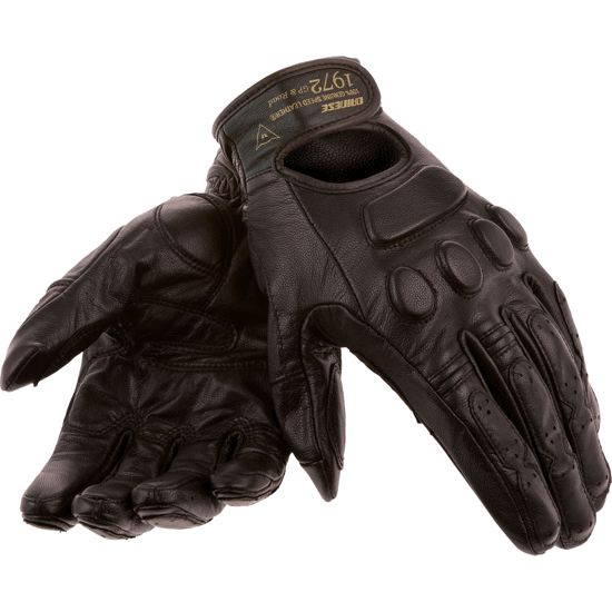 Excellent leather gloves. fit true to size. excellent feel, but need a little break-in period and have thin protection pads.