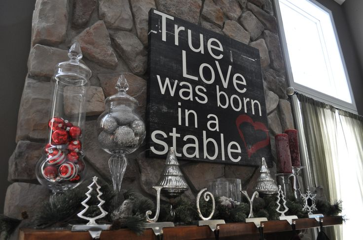 What Christmas is all about.: Signs, Idea, Seasons, True Love, Holidays, Stables, Christmas Decor, Christmas Mantles, Christmas Mantels