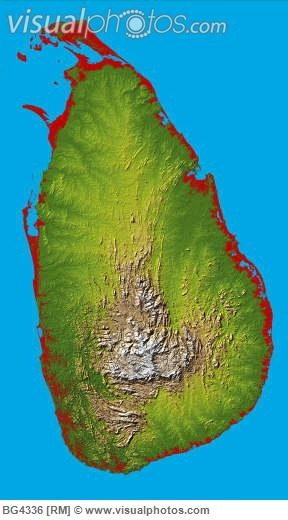 37 best sri lanka and south india tour images on pinterest south map of sri lanka a roughly oval island with a mountainous center altavistaventures Gallery