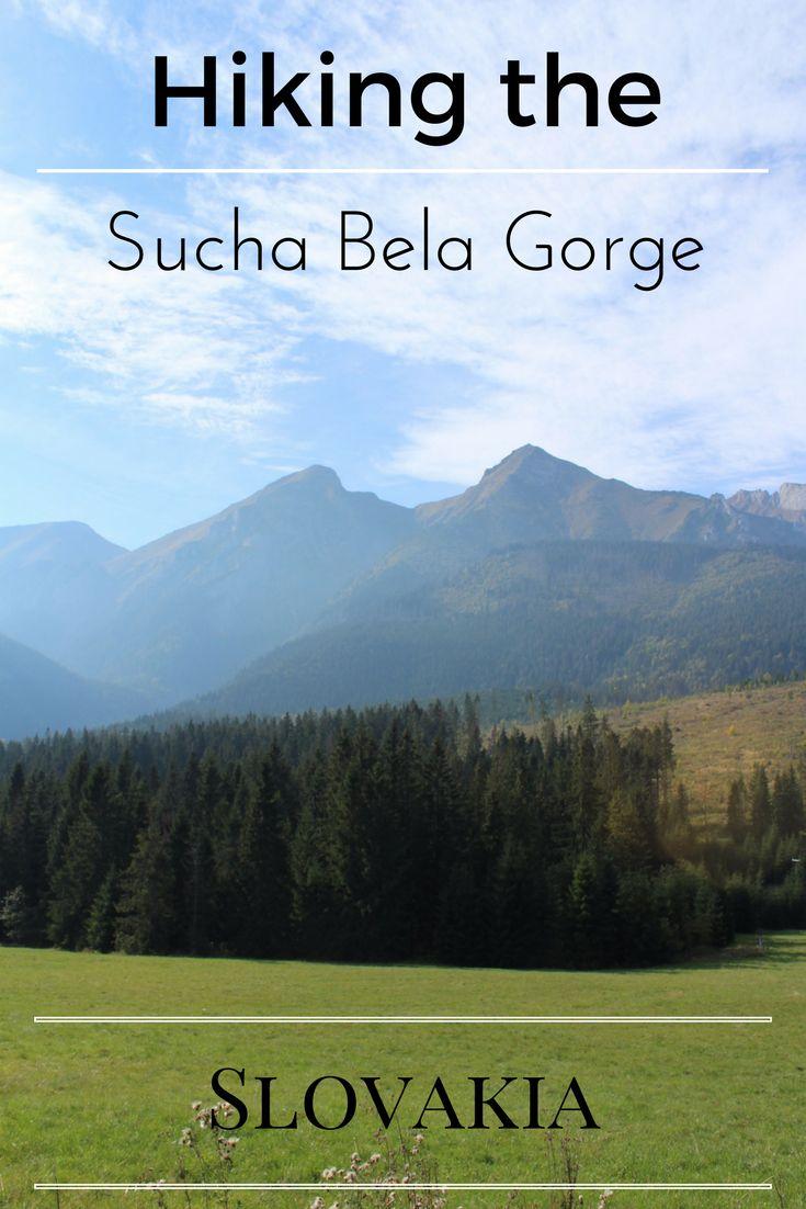 Hiking the Sucha Bela gorge (Slovakia)