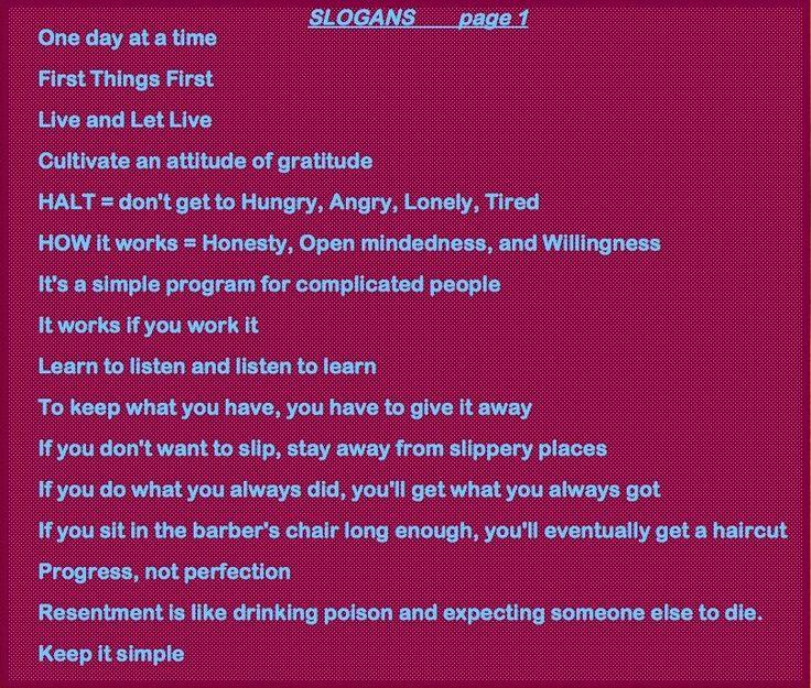 Al anon slogans pdf creator