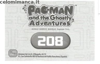 Pac-Man and the Ghostly Adventures: Retro Figurina n. 208 -