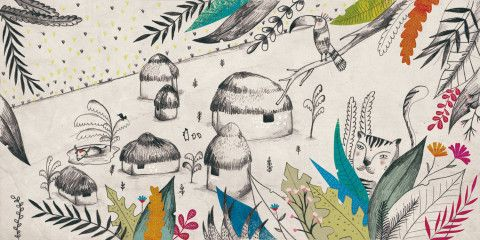 Anna Falcó is an illustrator and a graphic designer from Barcelona.She works as a freelance since 2011 and continues growing as a graphic artist.