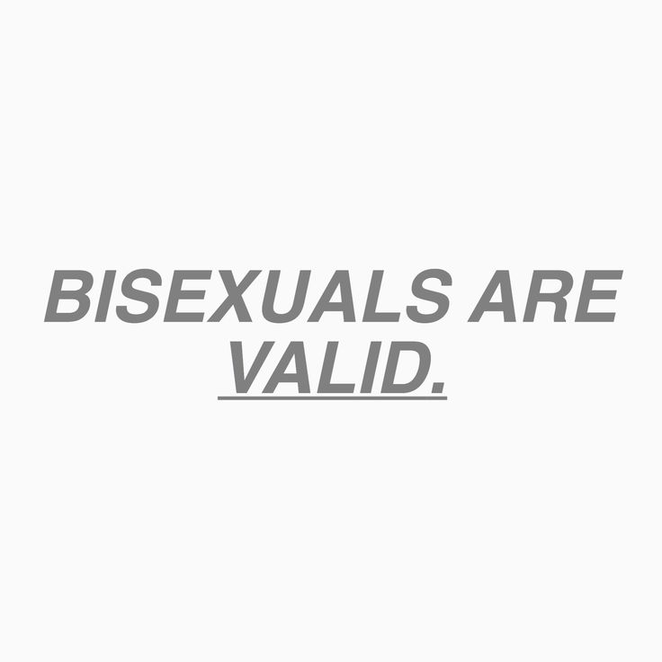 "the ""b"" in ""bisexual"" stands for ""beautiful""."
