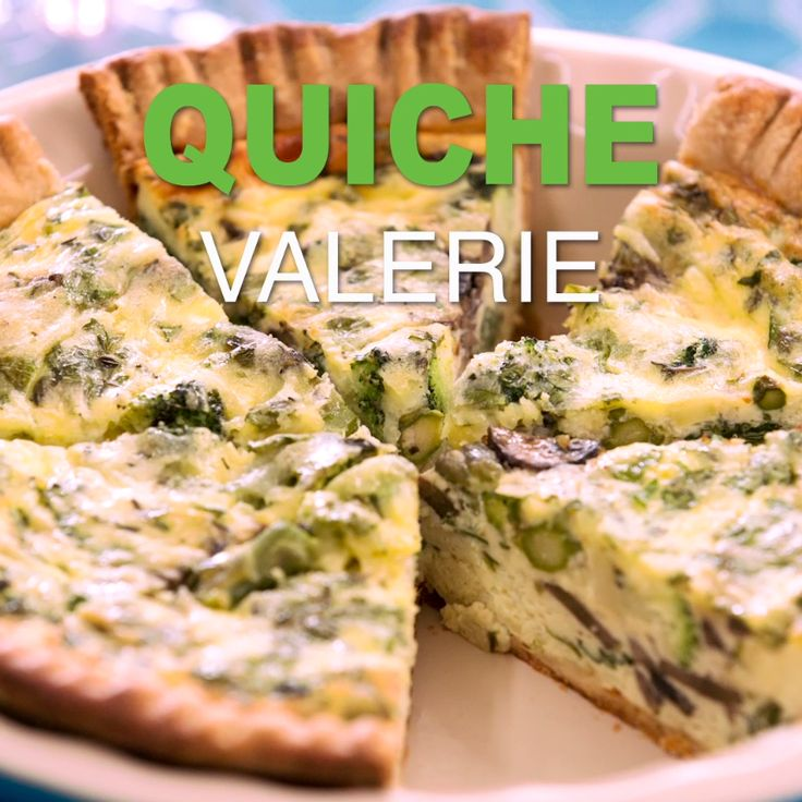 Impress Your Guests With An Elegant Looking Vegetable Quiche That Is Actually Super Simple To