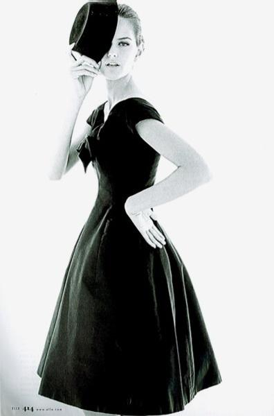 Dior dress, 1956