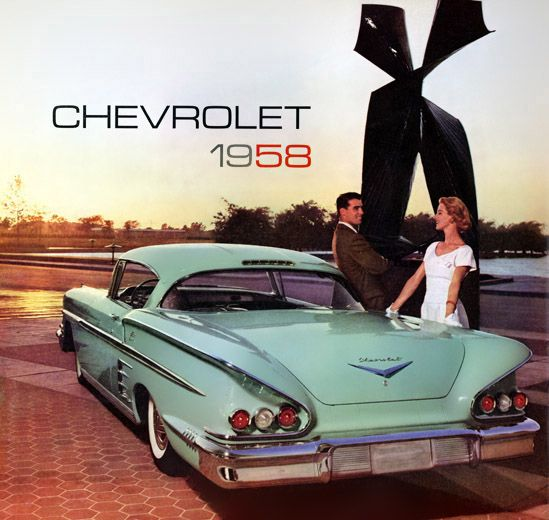 The Chevrolet Impala was first introduced in 1958 and varied differently from some of the earlier, conservative models that Chevrolet put out. It was also one of the first Chevrolets to have a hardtop rather than canvas roof.