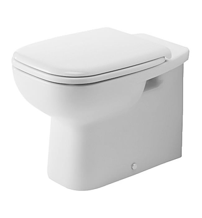 Duravit D-Code 355 x 560mm Back To Wall Toilet - 21150900002