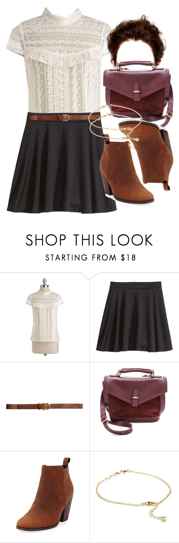 """Allison Inspired Birthday Dinner Outfit"" by veterization ❤ liked on Polyvore featuring H&M, Madewell, Cole Haan and ASOS"