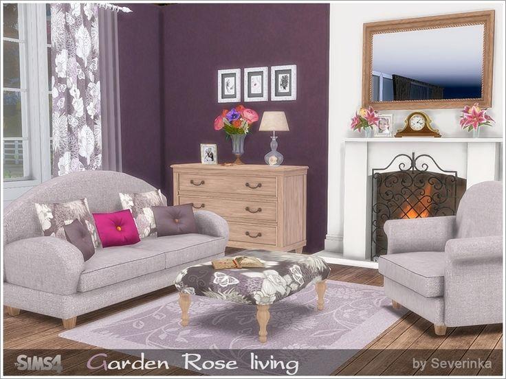 Superb The Sims Resource: Garden Rose Livingroom By Severinka