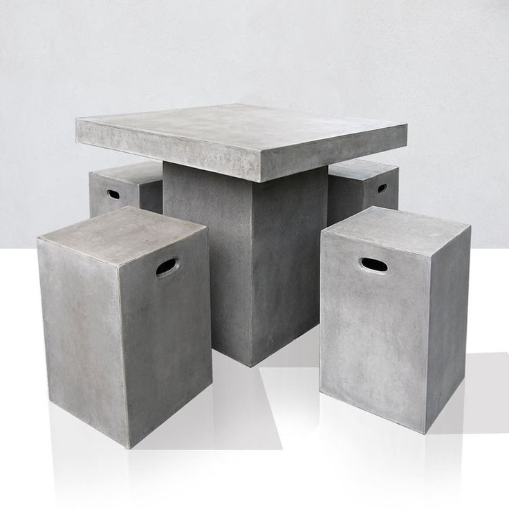 U201cThe Kimberly Counter Dining Table And Stools #lightweightconcrete #grc  #gfrc #cementfurniture
