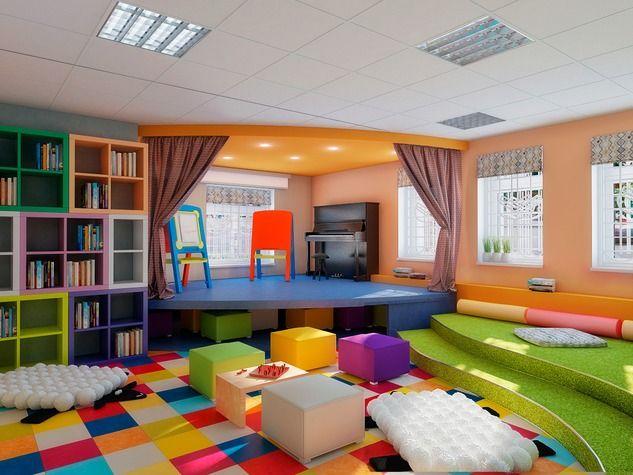 Проект: Оформление интерьера помещения под частный детский сад-продленку — Яна Фадеева — MyHome.ru