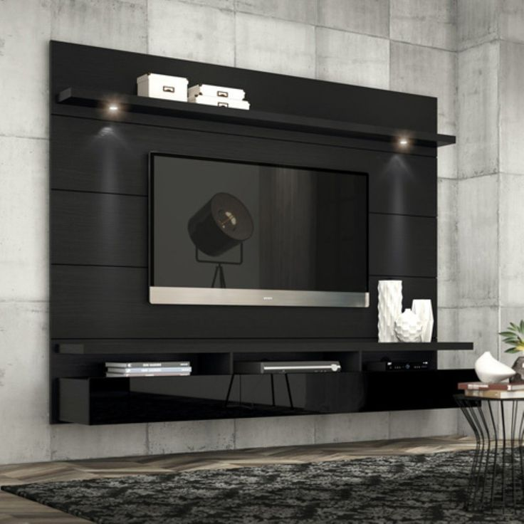 17 best ideas about floating tv stand on pinterest tv shelf wall tv stand and tv wall decor for Floating tv stand living room furniture