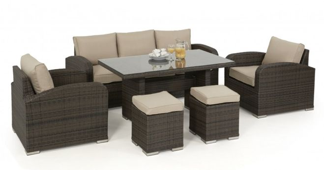 LA Sofa Dining Set - Koncept Furnishing