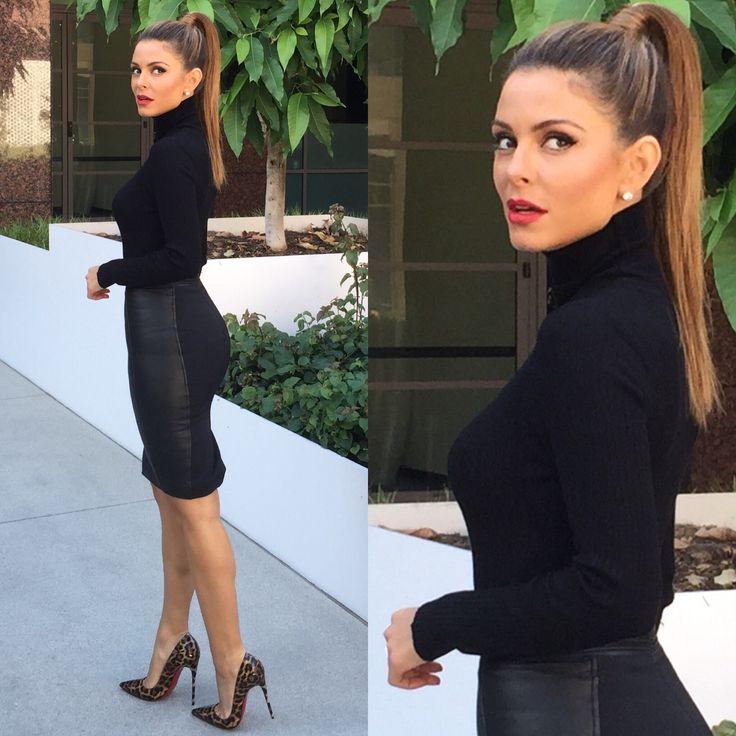 Sweater: Naked Wardrobe Skirt: Reiss Fashion  Shoes: Louboutin