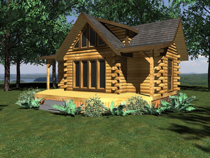 Small Log Cabin Plans Log Home Blog By Honest Abe