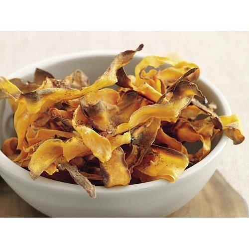 Paleo seasoned kumara chips recipe - By recipes+, Light, crispy and wonderfully moorish, enjoy these tasty homemade kumara chips as a healthier version of the once-naughty snack.