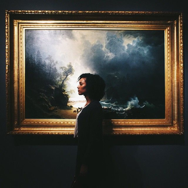 [ In de storm ••• #vscocam #albertbierstadt ] (at Seattle Art Museum)