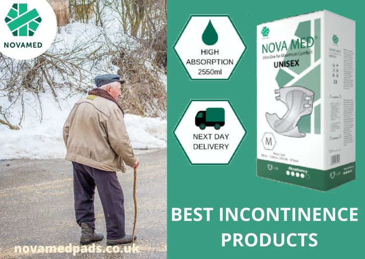 Best Incontinence Product For Men Novamed Pads in 2020